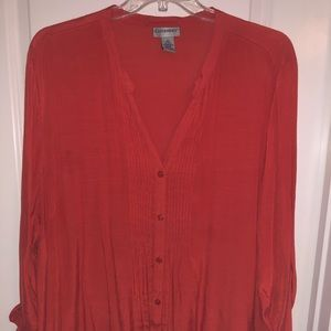 Catherine's PinTuck blouse